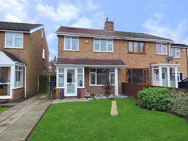 3 Bedrooms Semi Detached House for sale in Cheveley Avenue, Rubery, Birmingham B45