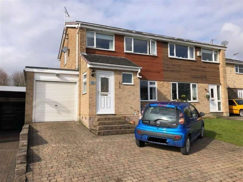 3 Bedrooms Semi Detached House for sale in 16, Belton Close, Dronfield Woodhouse, Dronfield, Derbyshire, S18