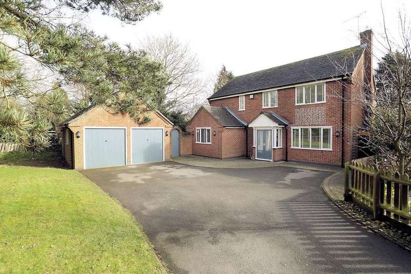 4 Bedrooms Detached House for sale in Rochester Close, Kibworth Harcourt, Leicester