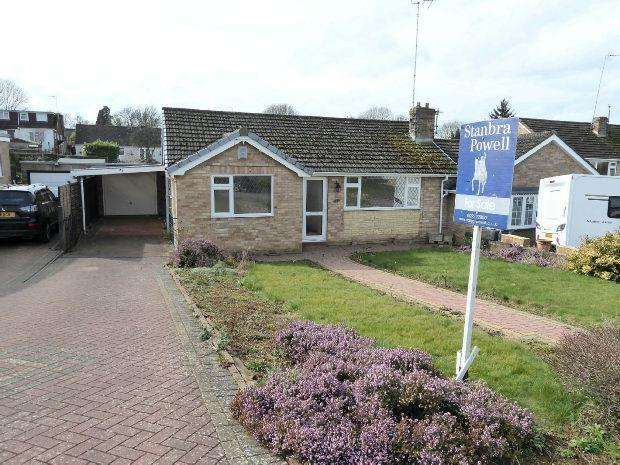 3 Bedrooms Semi Detached Bungalow for sale in Wesley Drive, Banbury