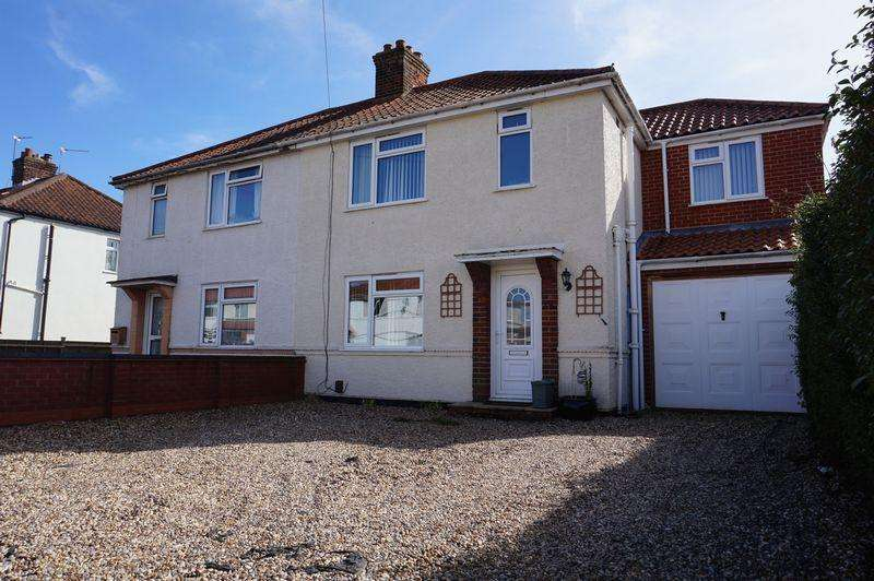 4 Bedrooms Semi Detached House for sale in Harlington Avenue, Hellesdon, Norwich