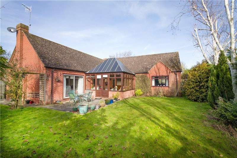 4 Bedrooms Detached Bungalow for sale in Stoney Ley, Broadwas, Worcester, Worcestershire, WR6