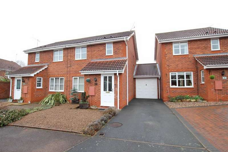 3 Bedrooms Semi Detached House for sale in Bowood Lane, ST PETERS
