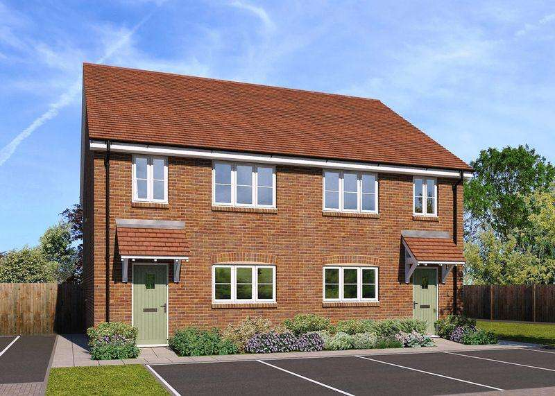 3 Bedrooms Semi Detached House for sale in Plot 13, The Cholsey, Monks Walk, OX13 6GG
