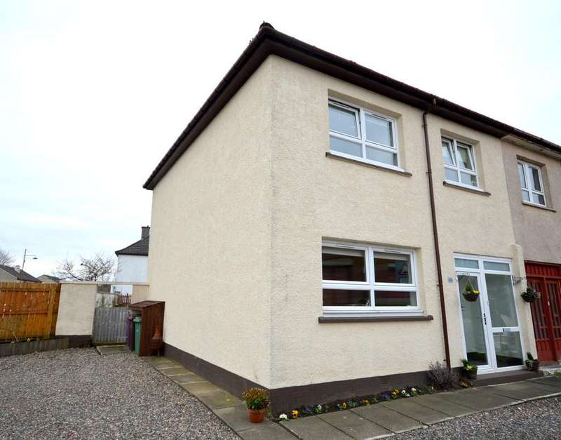 3 Bedrooms End Of Terrace House for sale in Halley Street, Yoker G13 4DT