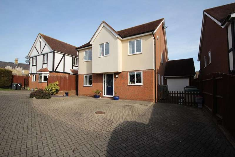4 Bedrooms Detached House for sale in Buxton Close, Meppershall, SG17