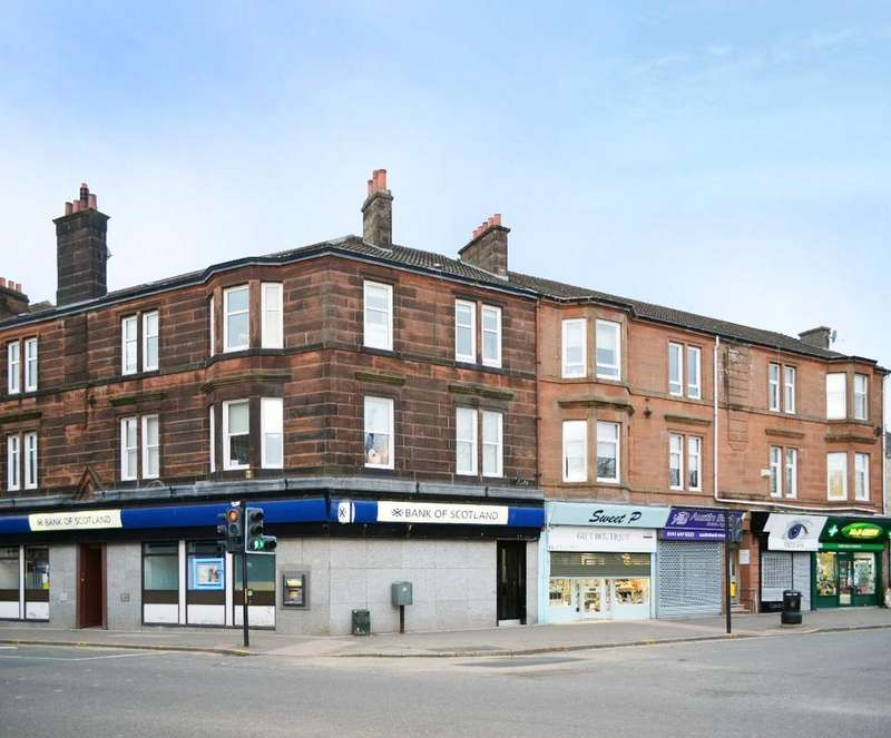 2 Bedrooms Flat for sale in Dukes Road, Flat 3, Burnside, Glasgow, G73 5AA
