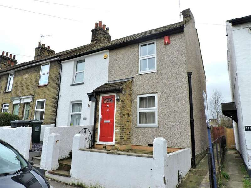 2 Bedrooms End Of Terrace House for sale in Fulwich Road, Dartford, DA1 1UN