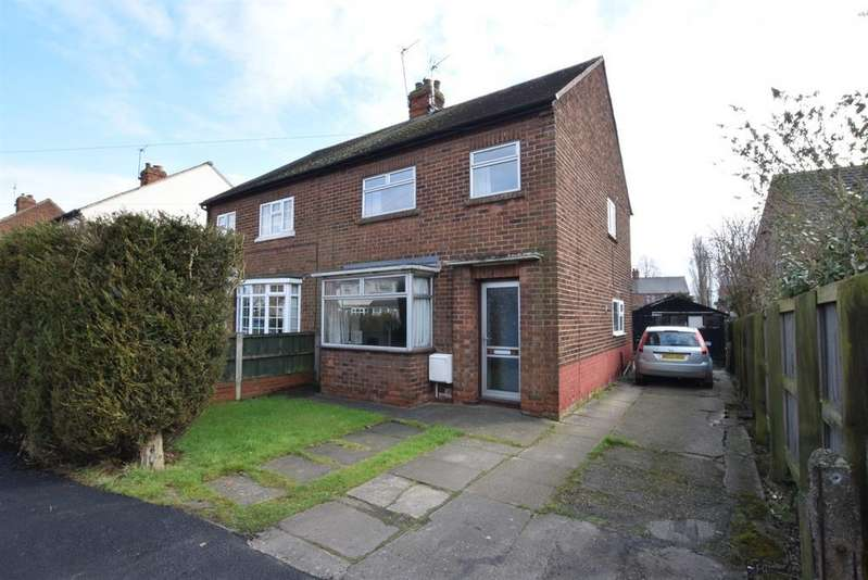 3 Bedrooms Semi Detached House for sale in Abbots Road, Scunthorpe, DN17 1JG