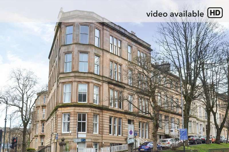 2 Bedrooms Flat for sale in Queen Margaret Drive, Flat 7, North Kelvinside, Glasgow, G12 8DQ