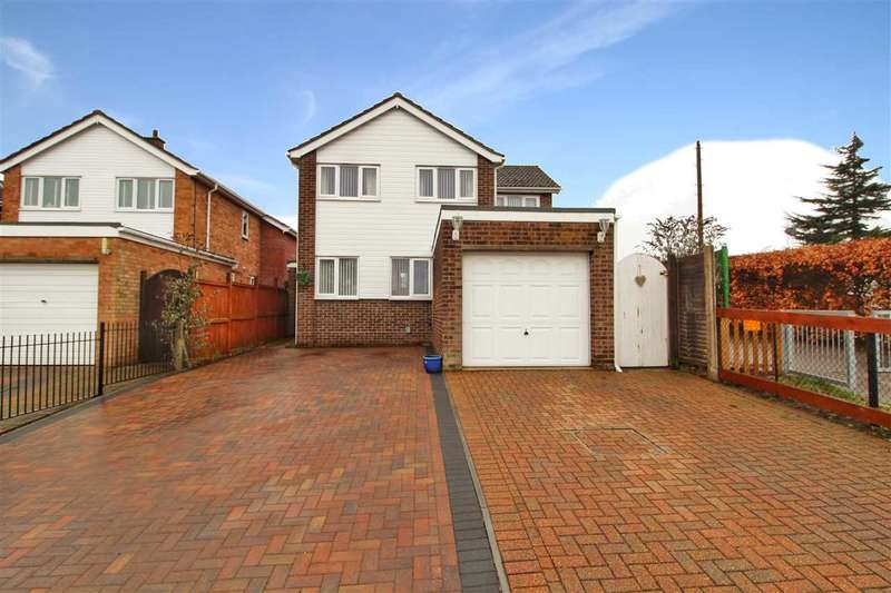 4 Bedrooms Detached House for sale in Upland Drive, St. Johns, Colchester