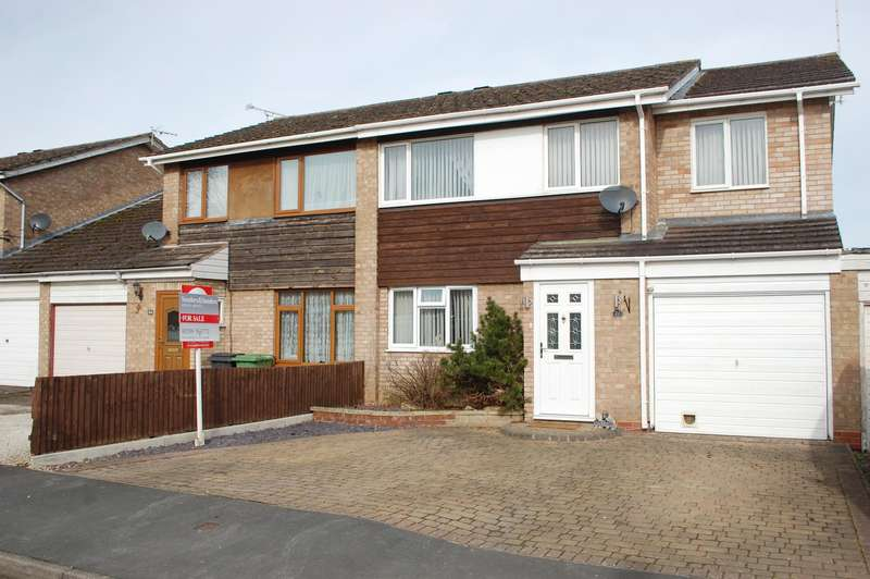 4 Bedrooms Semi Detached House for sale in Hill View Road, Bidford on Avon, B50