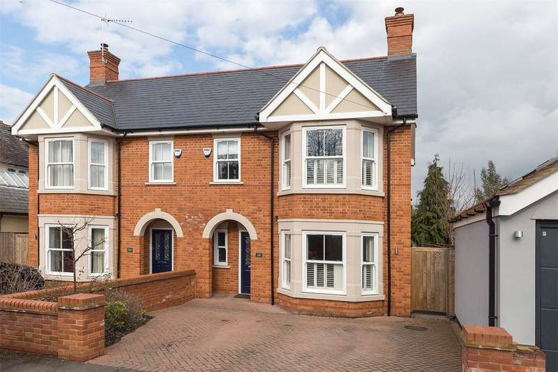 4 Bedrooms Semi Detached House for sale in Claremont Gardens, Marlow, Buckinghamshire, SL7