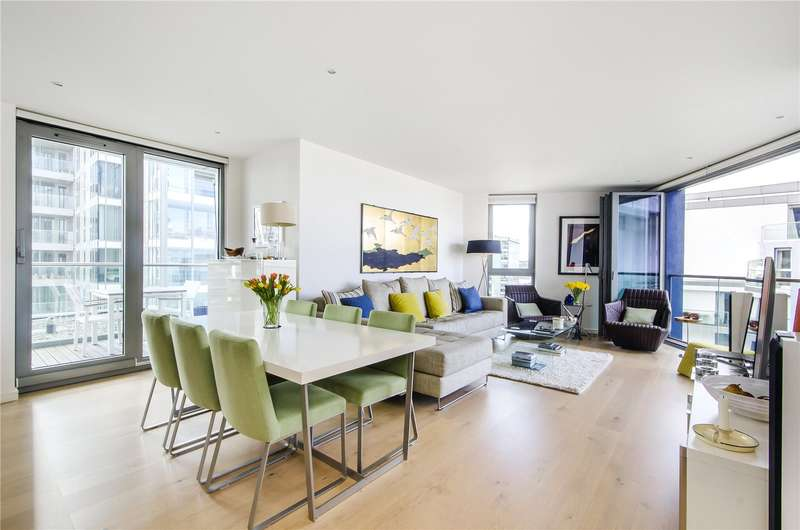 3 Bedrooms Flat for sale in Mandel House, Eastfields Avenue, London, SW18