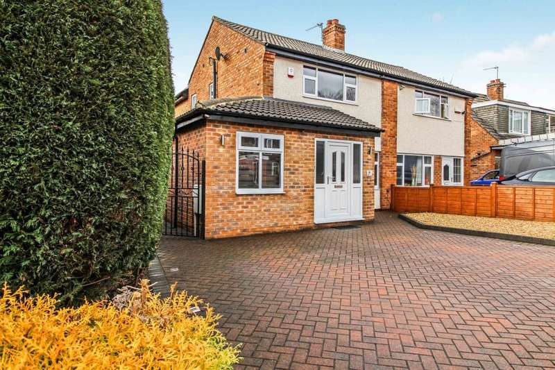3 Bedrooms Semi Detached House for sale in Highwood Grove, Leeds, LS17