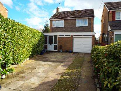 3 Bedrooms Detached House for sale in Moorfields, Willaston, Nantwich, Cheshire