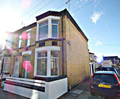 3 Bedrooms End Of Terrace House for sale in York Road, Wallasey, Wirral, CH44