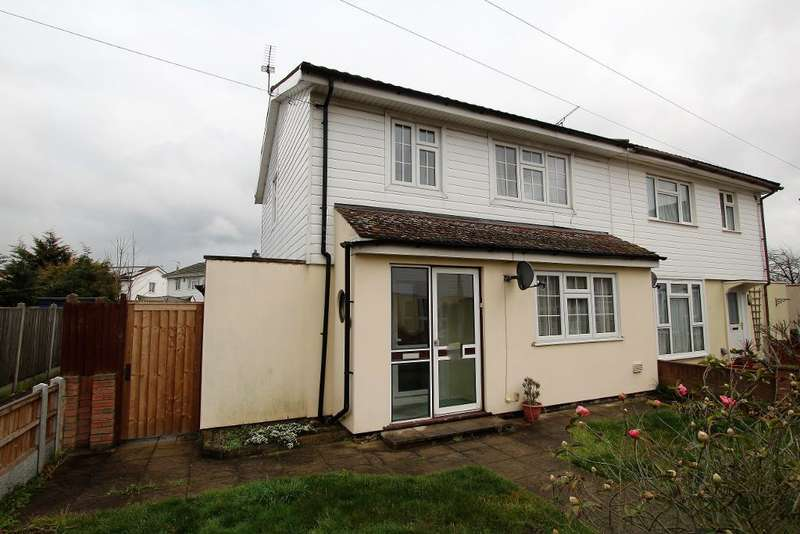 3 Bedrooms Semi Detached House for sale in Rookery Crescent, Dagenham, Essex, RM10 9TP
