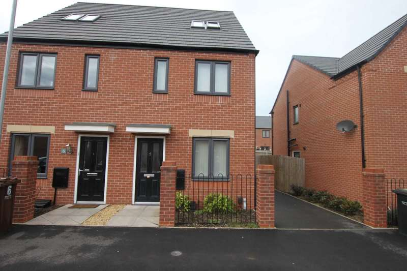 3 Bedrooms Semi Detached House for sale in 4 Exeter Gardens, Wolverhampton, WV2 2RE