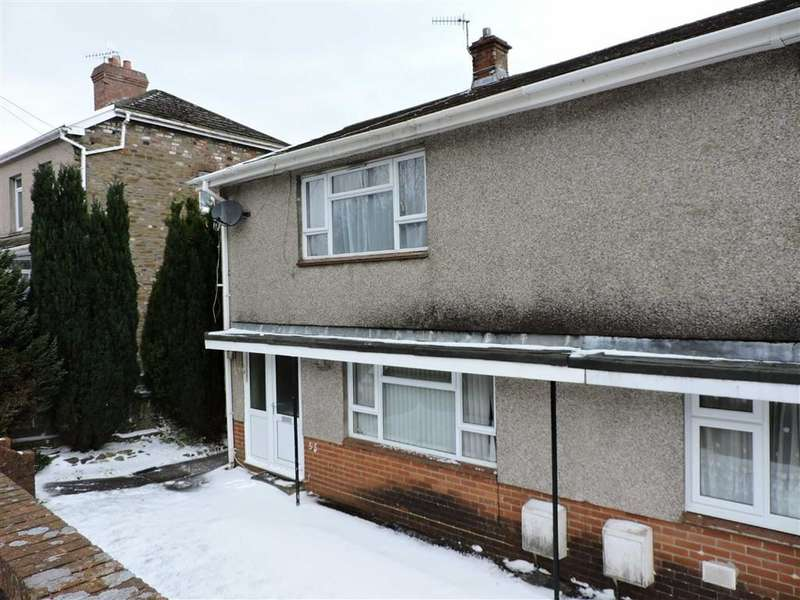 2 Bedrooms Semi Detached House for sale in Glanyrafon Road, Ystalyfera