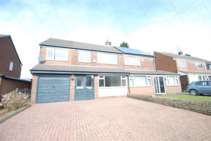 4 Bedrooms Semi Detached House for sale in Nottingham Drive, Ashton-under-Lyne, OL6 8UF