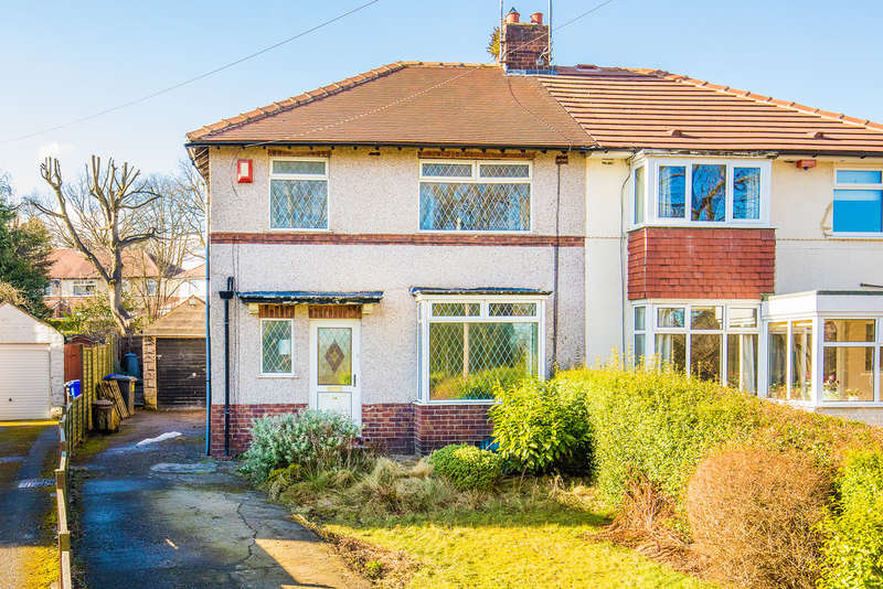3 Bedrooms Semi Detached House for sale in 26 Church Lane, Dore, Sheffield, S17 3GS.