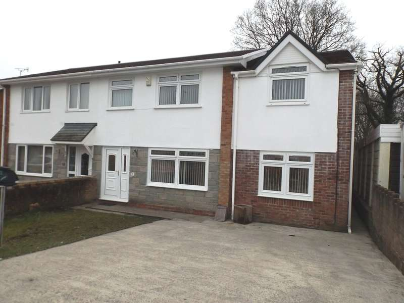 4 Bedrooms Semi Detached House for rent in 6 Swn y Nant, Pencoed, CF