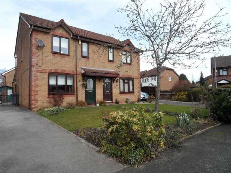 3 Bedrooms Semi Detached House for sale in Honeysuckle Close, Brooklands