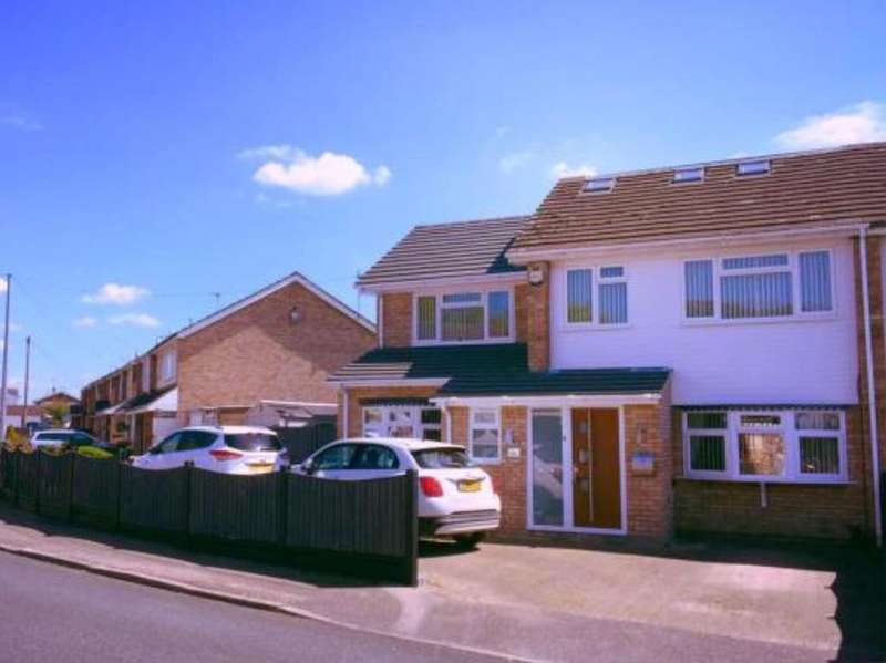 5 Bedrooms Semi Detached House for sale in Northlands Close, Stanford-le-Hope, SS17