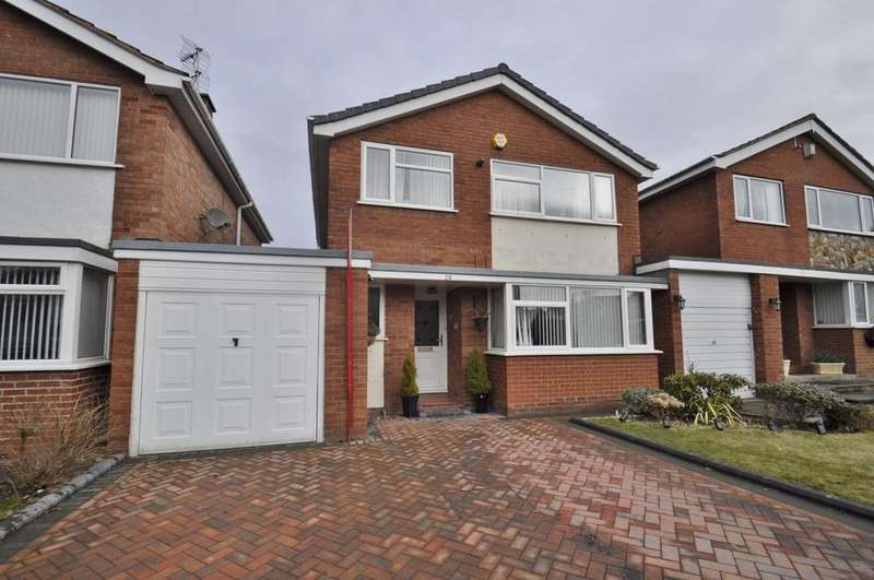 3 Bedrooms Link Detached House for sale in Padstow Drive, Bramhall
