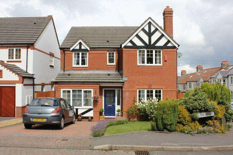 4 Bedrooms Detached House for sale in The Grange, Penarth