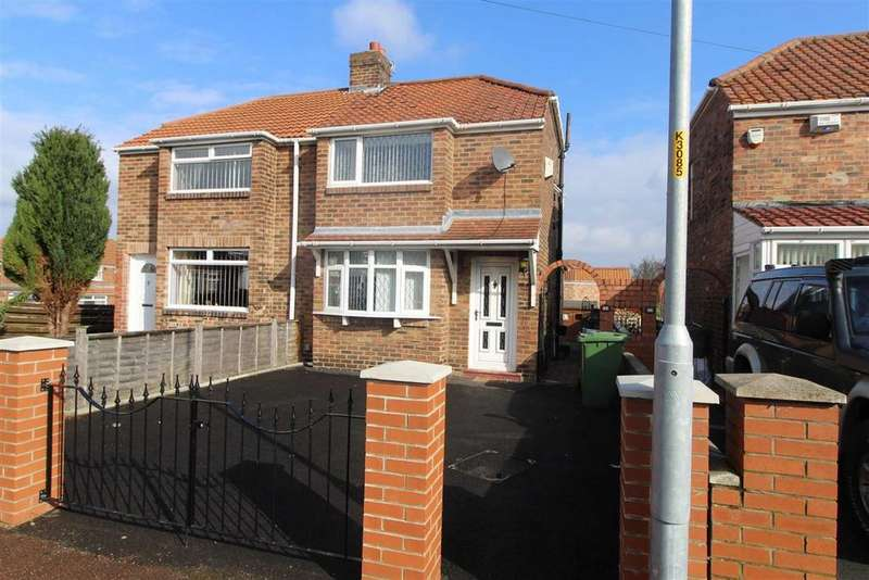 2 Bedrooms Semi Detached House for sale in Raylees Gardens, Dunston, Tyne And Wear