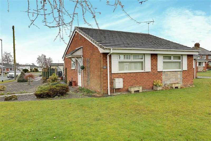 2 Bedrooms Semi Detached Bungalow for sale in Birchin Lane, Nantwich