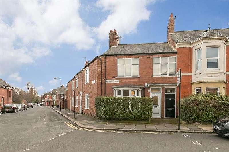 2 Bedrooms Flat for sale in Oakland Road, West Jesmond, Newcastle upon Tyne
