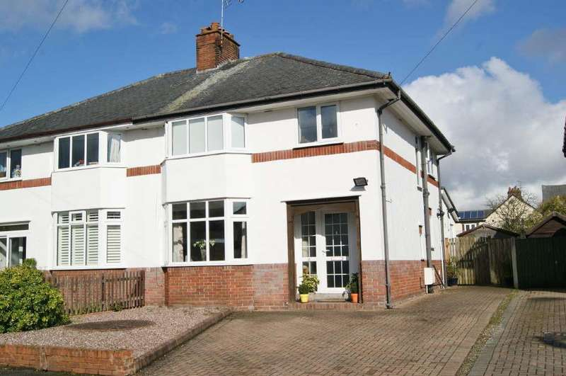 3 Bedrooms Semi Detached House for sale in Egerton Walk, Garden Village