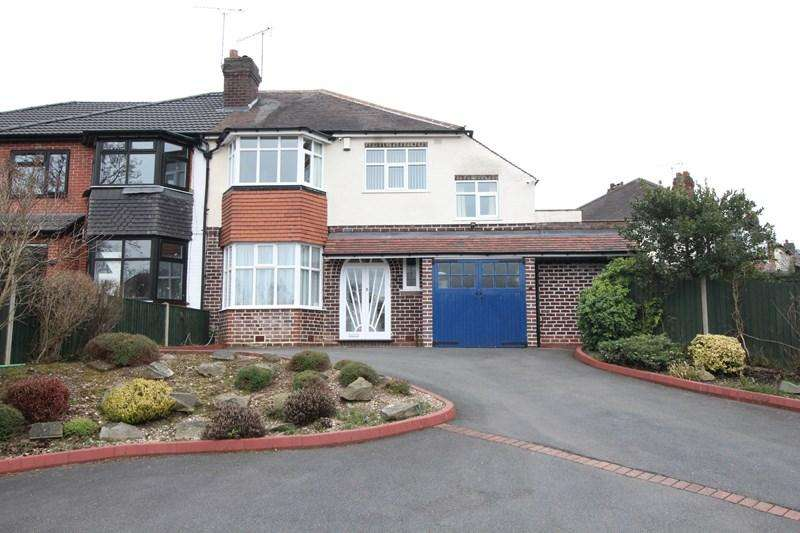 4 Bedrooms Semi Detached House for sale in Painswick Road, Hall Green, Birmingham