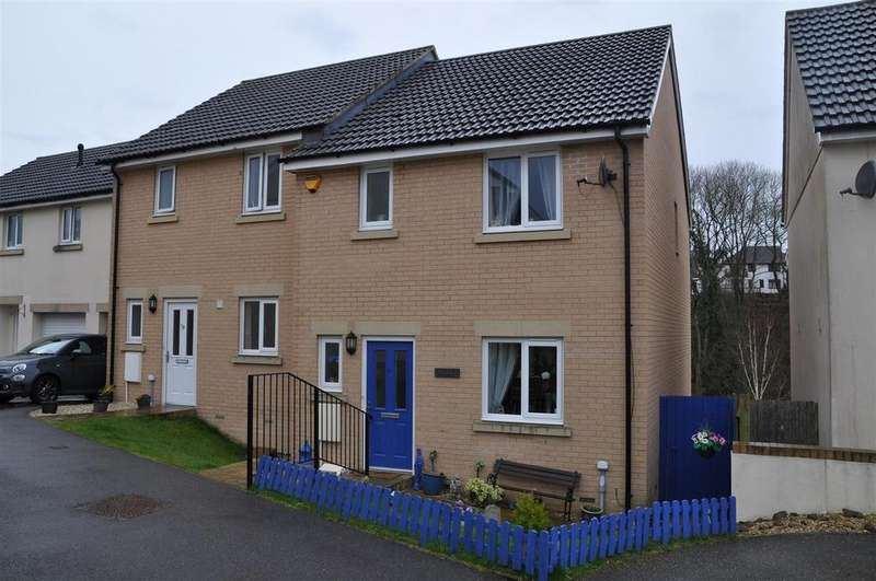3 Bedrooms Semi Detached House for sale in Chapel Park Close, Bideford