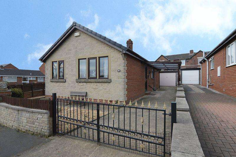 2 Bedrooms Detached Bungalow for sale in Hill Top Close, Fitzwilliam, Pontefract