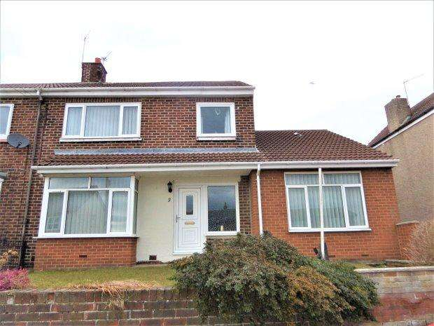 3 Bedrooms Semi Detached House for sale in SOUTH VIEW, FISHBURN, SEDGEFIELD DISTRICT