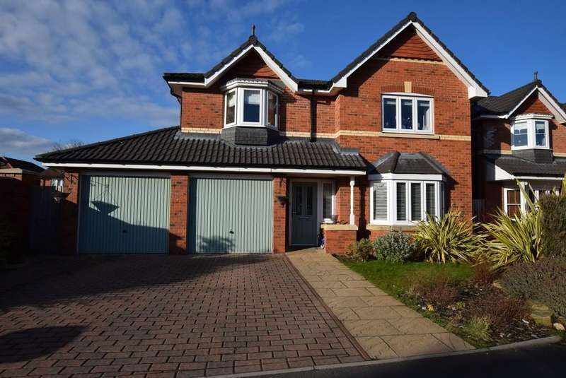 4 Bedrooms Detached House for sale in Chelford Road, Eccleston, St. Helens