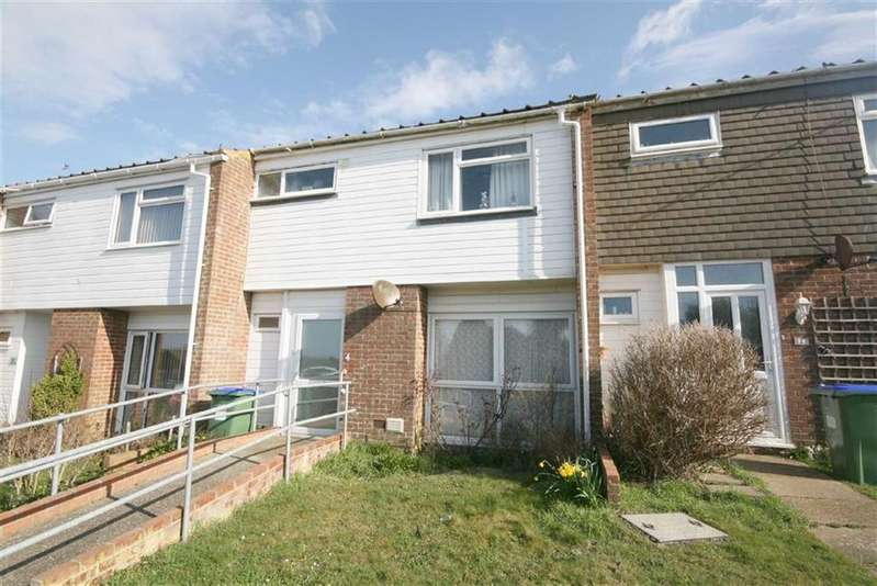 3 Bedrooms Terraced House for sale in Warren Way, Telscombe Cliffs, Peacehaven