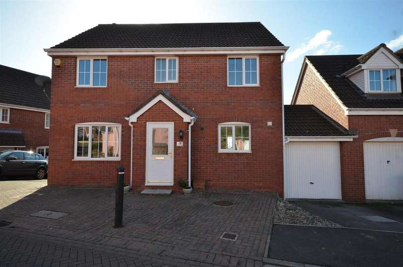 4 Bedrooms Link Detached House for sale in Baileys Gate, Cotford St. Luke, Taunton