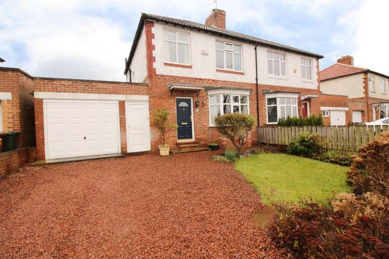3 Bedrooms Semi Detached House for sale in Main Road, Kenton Bank Foot, Newcastle Upon Tyne