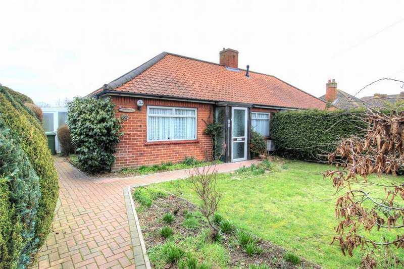 2 Bedrooms Semi Detached Bungalow for sale in Hargham Road NR17 2ES, Attleborough