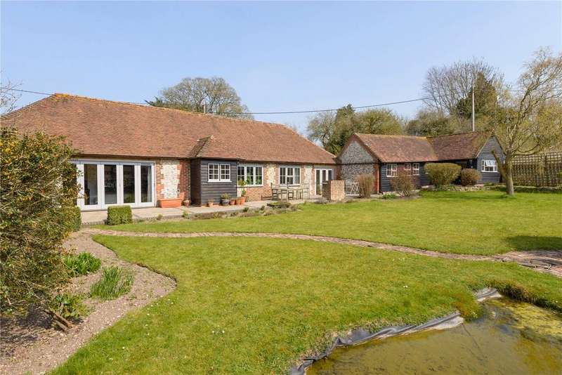 4 Bedrooms Barn Conversion Character Property for sale in Stoughton, Chichester, West Sussex