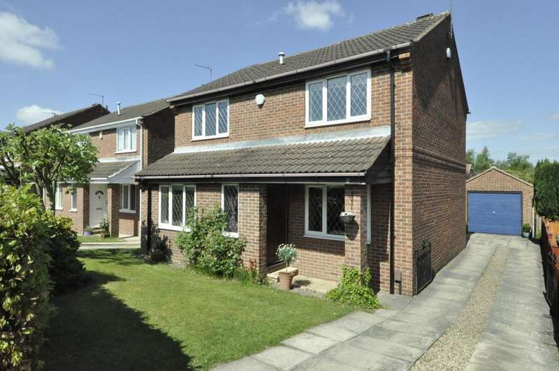 4 Bedrooms Detached House for sale in Plane Tree Croft, Leeds