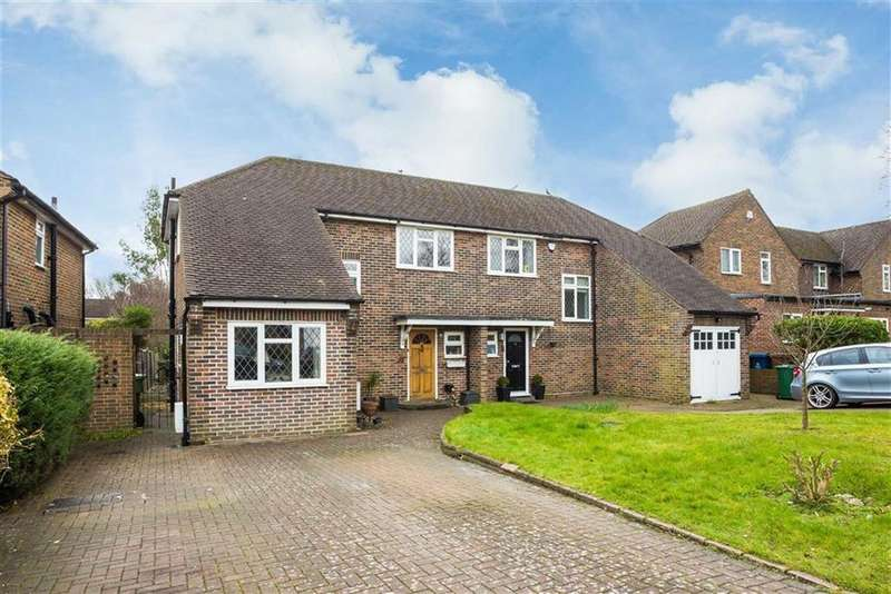 4 Bedrooms Semi Detached House for sale in Norman Crescent, Pinner