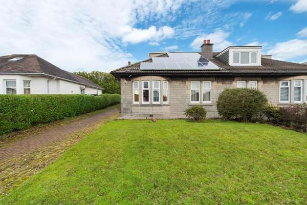 2 Bedrooms Semi Detached Bungalow for sale in 70 Birkhall Avenue, Cardonald, Glasgow, G52 2PN