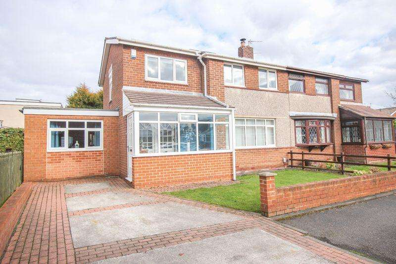 3 Bedrooms Semi Detached House for sale in Riding Lea, Winlaton