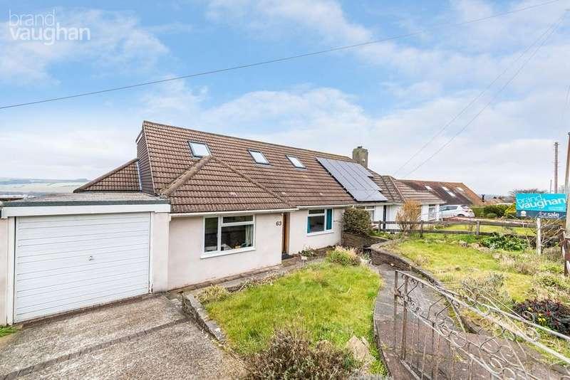 4 Bedrooms Semi Detached House for sale in Cuckmere Way, Brighton, BN1